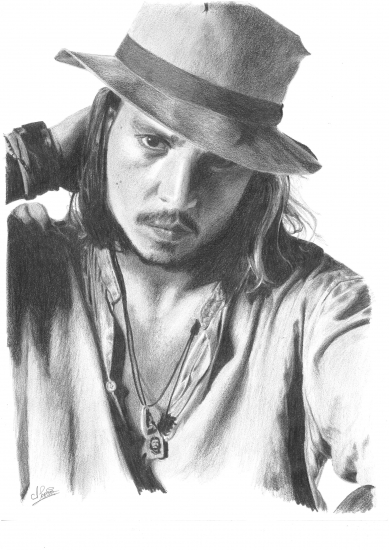 Johnny Depp by hedwige